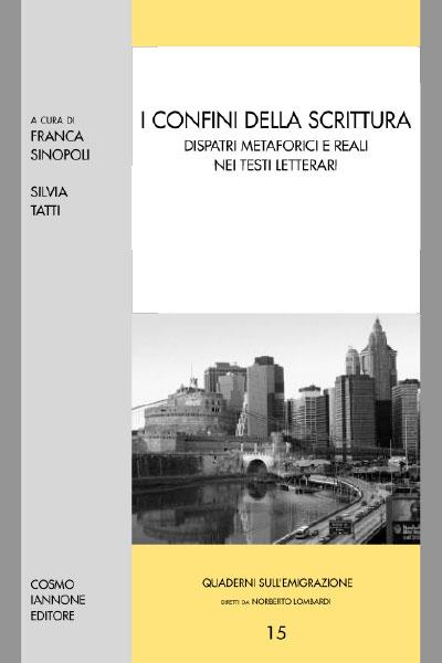 I confini della scrittura - Cosmo Iannone Editore