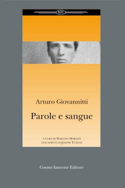 Parole e sangue - Cosmo Iannone Editore